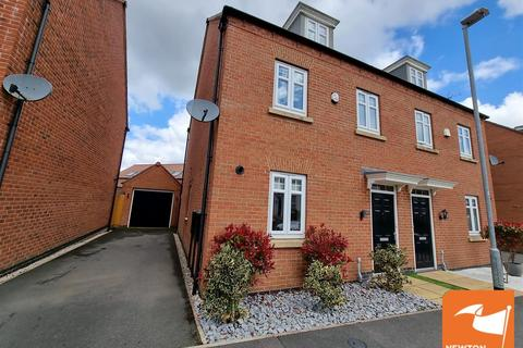 3 bedroom semi-detached house for sale - Topaz Crescent, Sutton-In-Ashfield
