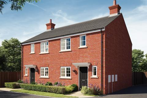 3 bedroom semi-detached house for sale - Plot 494, The Birch at Hanwell View, Southam Road, Banbury OX16