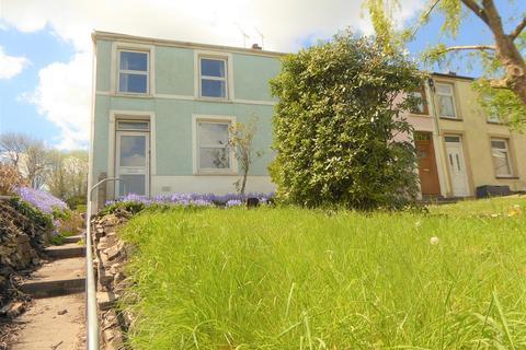 3 bedroom end of terrace house for sale - Bridgend Road, Aberkenfig, Bridgend, Bridgend. CF32 9AY