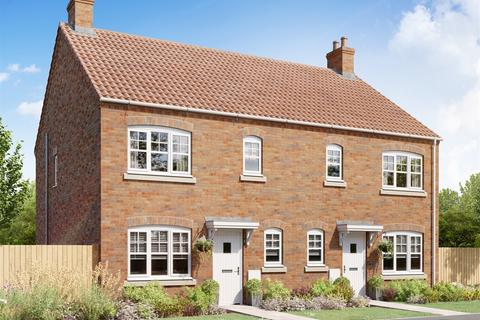2 bedroom semi-detached house for sale - Plot 228, The Butterrambe at Germany Beck, Bishopdale Way YO19