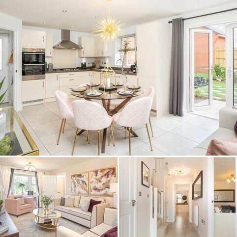 4 bedroom detached house for sale - Plot 274, Irving at Kings Chase, Jermyns Lane, Romsey SO51