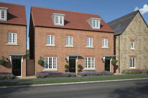 3 bedroom semi-detached house for sale - Plot 77, Kennett at Hemins Place at Kingsmere, Off Vendee Drive, Chesterton OX26