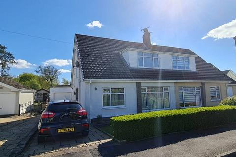2 bedroom semi-detached house for sale - Christopher Rise, Pontlliw, Swansea, City And County of Swansea.