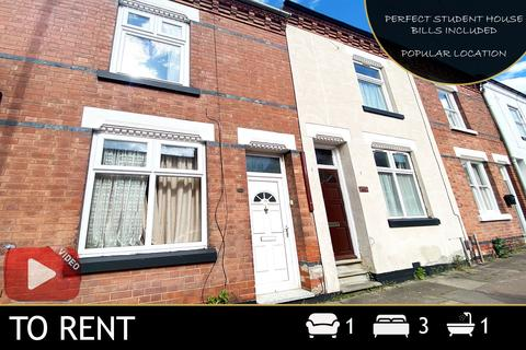 3 bedroom house to rent - Hartopp Road, Leicester, LE2