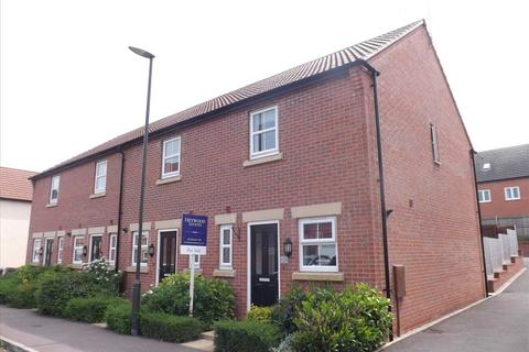 2 bedroom end of terrace house for sale - Vicarage Walk, Chesterfield