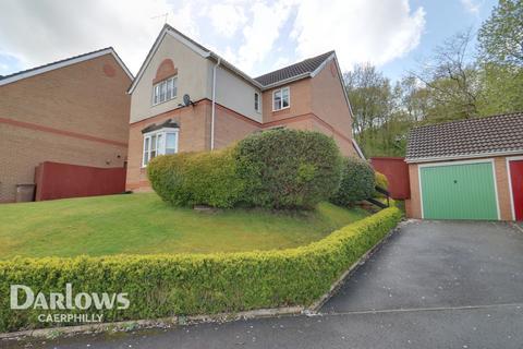 4 bedroom detached house for sale - St Cenydd Close, BLACKWOOD