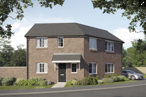 3 bedroom detached house for sale - Plot 308, The Foxglove at Horwood Gardens, Gartree Road, Oadby LE2