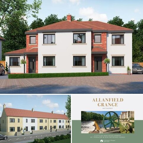 3 bedroom semi-detached house for sale - Allanfield Grange, Deighton Road, Wetherby, LS22