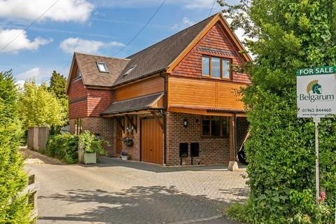 4 bedroom detached house for sale - Downs Road, South Wonston, Winchester, SO21