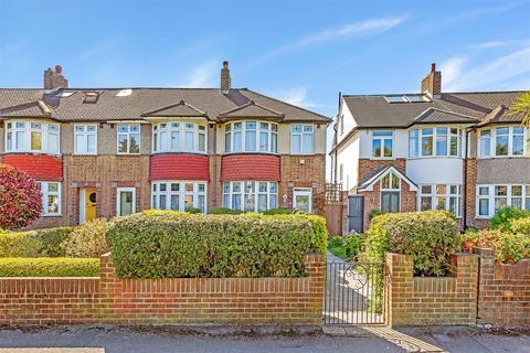 3 bedroom end of terrace house for sale - Bushey Road, Wimbledon