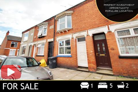 5 bedroom end of terrace house for sale - Wolverton Road, Leicester, LE3
