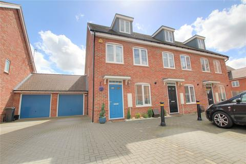 3 bedroom end of terrace house for sale - Buttercup Lane, Woodley, Reading, RG5