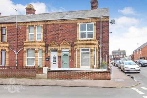 3 bedroom end of terrace house for sale - Palgrave Road, Great Yarmouth