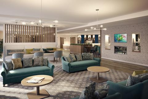 1 bedroom retirement property for sale - Plot 17(H) Viola 2A , Apartment at Springfields, School lane, off Burton Road LE65