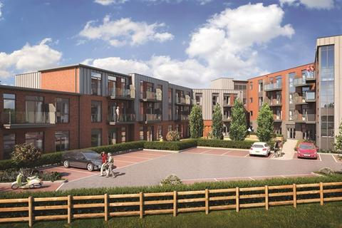 1 bedroom retirement property for sale - Plot 66 - Viola 1B , Apartment at Springfields, School lane, off Burton Road LE65