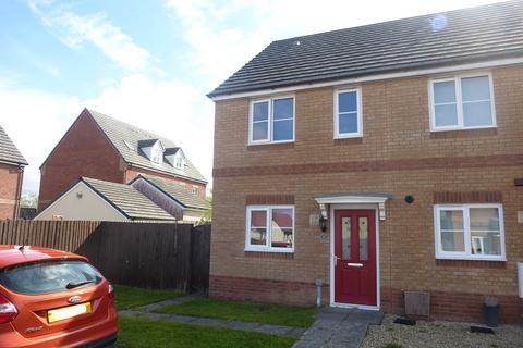 2 bedroom end of terrace house for sale - Ffordd Y Glowyr, Betws, Ammanford, Carmarthenshire.