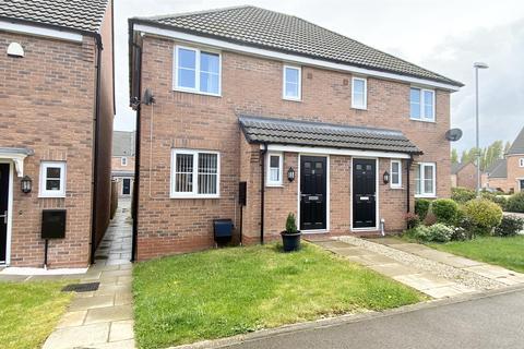 3 bedroom semi-detached house for sale - Indigo Drive, Burbage, Hinckley