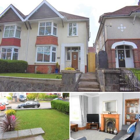 3 bedroom semi-detached house for sale - Glanmor Park Road, Sketty, Swansea