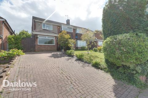 4 bedroom semi-detached house for sale - Carisbrooke Way, Cardiff