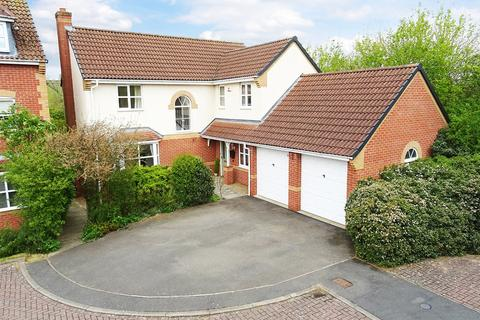 4 bedroom detached house for sale - Willow Herb Close, Oadby