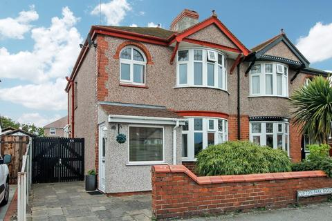3 bedroom semi-detached house for sale - Clifton Park Road, Rhyl