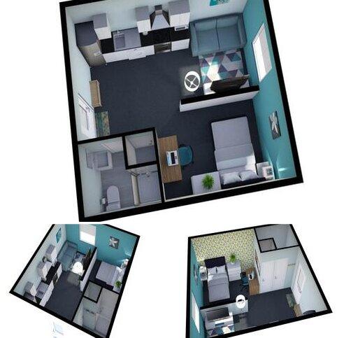 Studio to rent - Curzon Street, Derby,