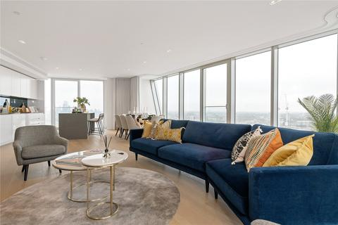 3 bedroom penthouse to rent - Newfoundland Place, Canary Wharf, E14