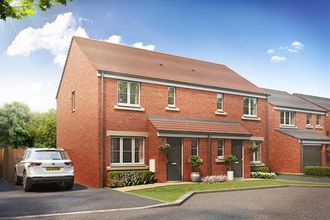 3 bedroom semi-detached house for sale - Plot 436, The Hanbury  at Hampton Gardens, Hartland Avenue, London Road PE7