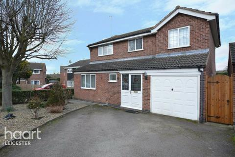 4 bedroom detached house for sale - Ludlow Close, Leicester