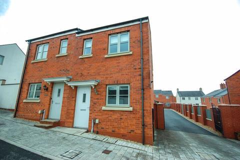 2 bedroom semi-detached house to rent - 3 Lon Y Grug, Llandarcy, Neath, SA10 6FW