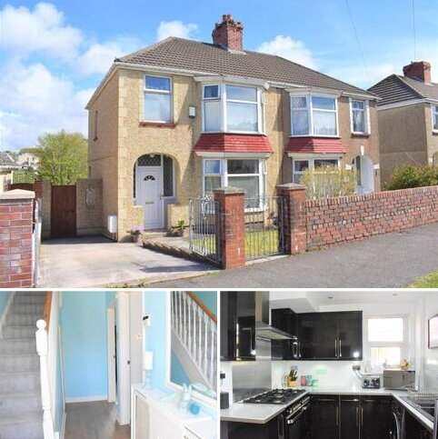 3 bedroom semi-detached house for sale - Gors Avenue, Townhill, Swansea
