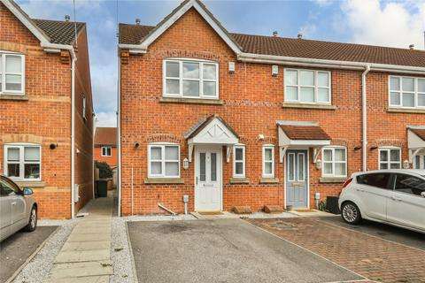 2 bedroom end of terrace house for sale - Tennyson Court, Hedon, Hull, HU12