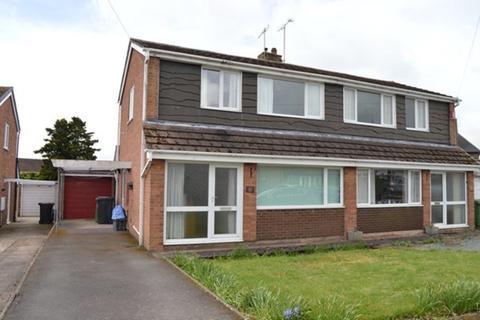 3 bedroom semi-detached house for sale - Melrose Crescent, Market Drayton