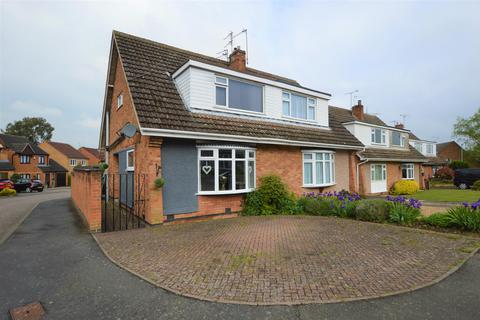 3 bedroom semi-detached house for sale - Clipstone Close , Wigston, LE18 3QS