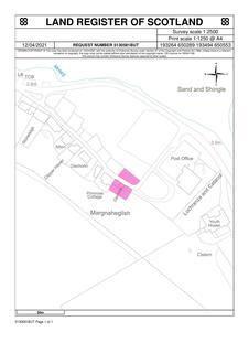 Plot for sale - Site of Glencoe, Lochranza, KA27 8HL