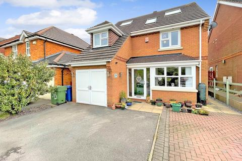 4 bedroom detached house for sale - Watermint Close, Wimblebury, Cannock, WS12 2GL