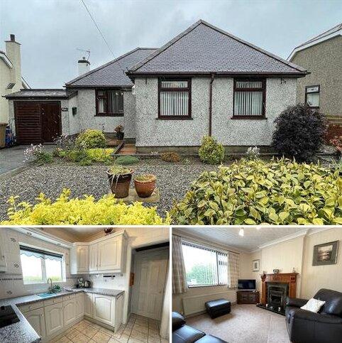 3 bedroom bungalow for sale - Cae Garw Road, Rhosbodrual, Caernarfon, Gwynedd, LL55