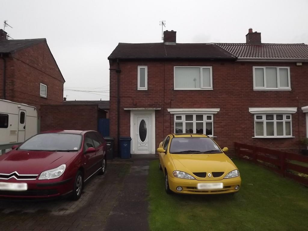 2 Bedrooms Semi Detached House for sale in Ewart Crescent, South Shields