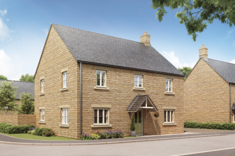 4 bedroom detached house for sale - Plot 18, The Chestnut at Cotswold Gate, Shilton Road OX18