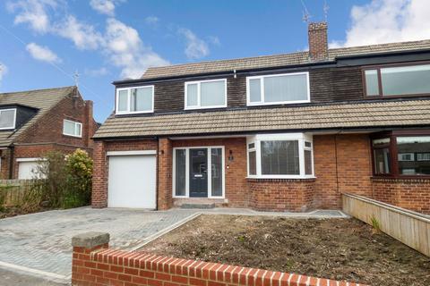 4 bedroom semi-detached house for sale - The Fairway, Loansdean, Morpeth, Northumberland, NE61 2DW
