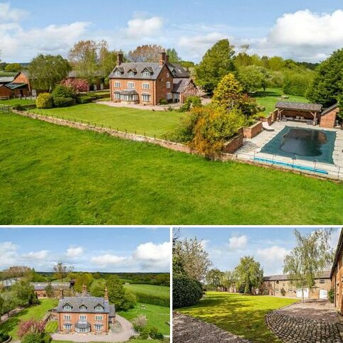 6 bedroom detached house for sale - Townsgreen, Wettenhall, Cheshire