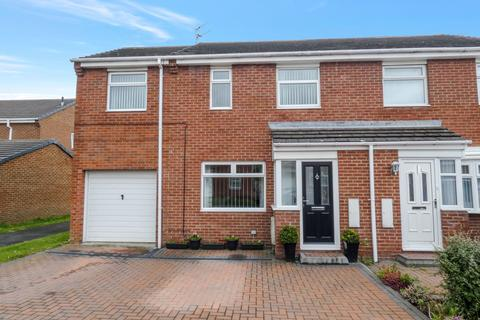 4 bedroom semi-detached house for sale - Nursery Park, Ashington, Northumberland, NE63 0DQ