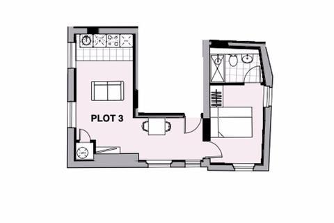 1 bedroom apartment for sale - 22-24 Station Road, Urmston, Trafford, M41