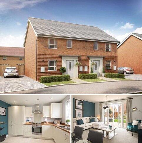3 bedroom end of terrace house for sale - Plot 142, Folkestone at Canal Quarter at Kingsbrook, Burcott Lane, Aylesbury, AYLESBURY HP22