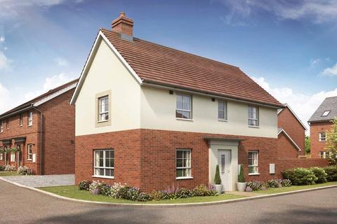 3 bedroom end of terrace house for sale - Plot 144, Moresby at Canal Quarter at Kingsbrook, Burcott Lane, Aylesbury, AYLESBURY HP22
