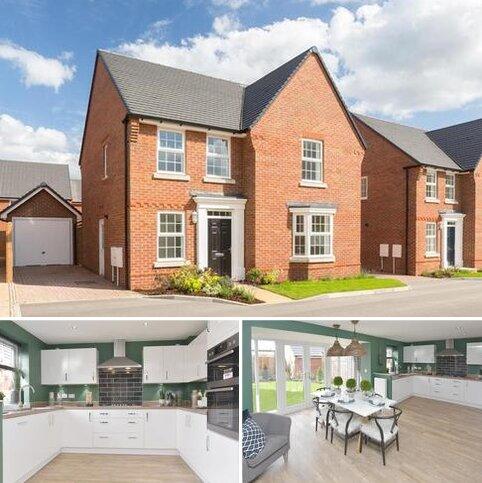 4 bedroom detached house for sale - Plot 376, Holden at Wigston Meadows, Newton Lane, Wigston, WIGSTON LE18