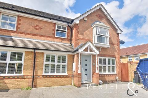 3 bedroom semi-detached house for sale - Doulton Close, Church Langley