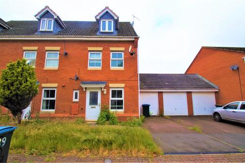 4 bedroom semi-detached house to rent - Firedrake Croft, Stoke, Coventry, CV1 2DR