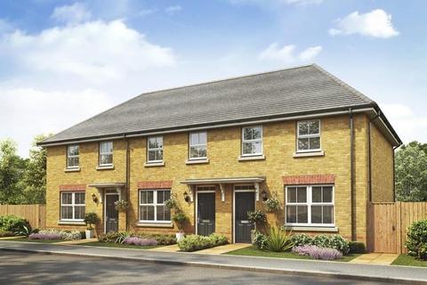 3 bedroom end of terrace house for sale - Plot 20, Archford at Duston Gardens, Telstar Way, Duston, NORTHAMPTON NN5