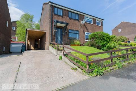 3 bedroom semi-detached house for sale - Daneswood Avenue, Whitworth, Rochdale, Lancashire, OL12
